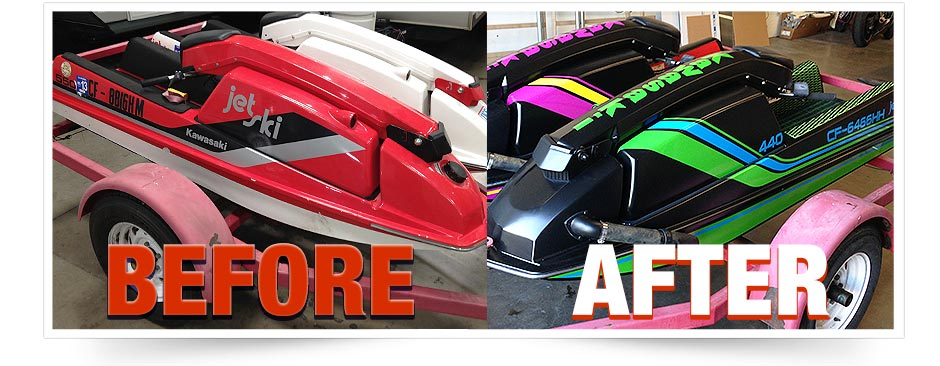 Jet-ski-80s-style-graphics-vinyl-wrap-Before-and-After